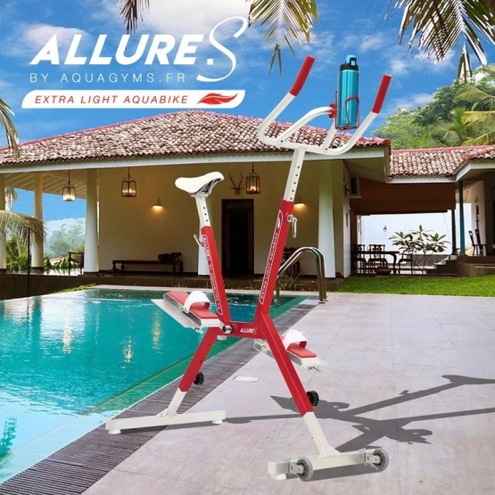 Aquabike Allure.S léger rouge
