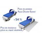 Pédale de résistance pour aquabike