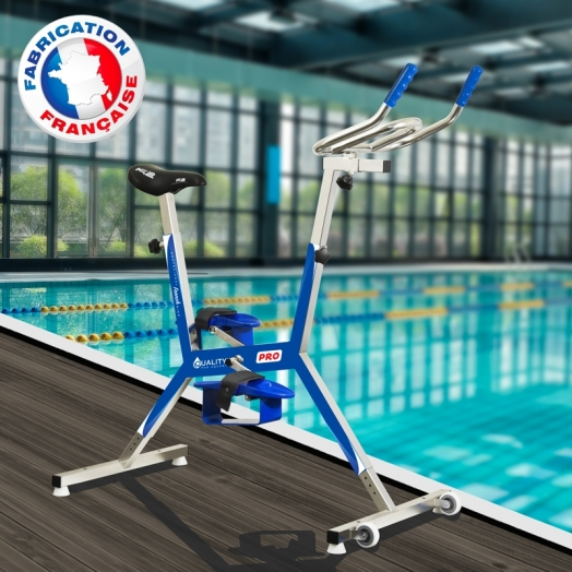 Aquabike Français Quality'v Pro Bleu